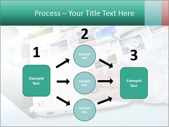 Laptop and business person PowerPoint Templates - Slide 92