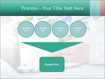 Laptop and business person PowerPoint Templates - Slide 93