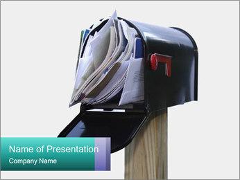 Mailbox PowerPoint Template - Slide 1