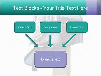 Mailbox PowerPoint Template - Slide 70