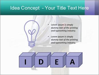 Mailbox PowerPoint Template - Slide 80