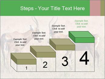 Pair of Blesbok PowerPoint Templates - Slide 64