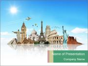 World monuments PowerPoint Templates