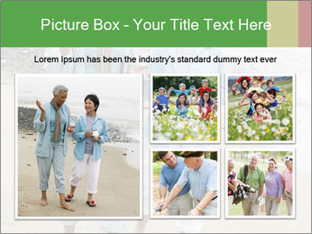 Two middle-aged women PowerPoint Templates - Slide 19