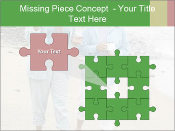 Two middle-aged women PowerPoint Templates - Slide 45
