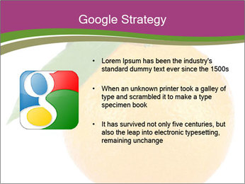 Ripe orange PowerPoint Template - Slide 10