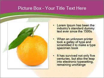 Ripe orange PowerPoint Template - Slide 13