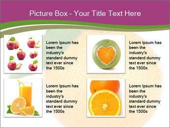 Ripe orange PowerPoint Template - Slide 14