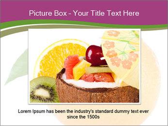 Ripe orange PowerPoint Template - Slide 16