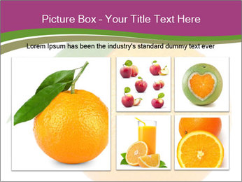 Ripe orange PowerPoint Template - Slide 19
