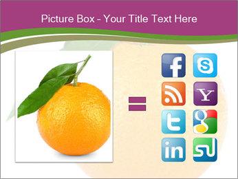 Ripe orange PowerPoint Template - Slide 21