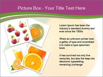 Ripe orange PowerPoint Template - Slide 23