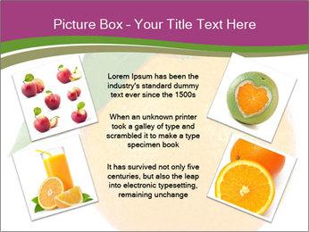 Ripe orange PowerPoint Template - Slide 24