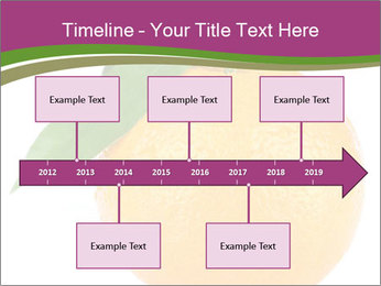 Ripe orange PowerPoint Template - Slide 28