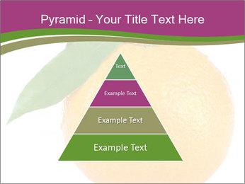 Ripe orange PowerPoint Template - Slide 30
