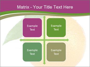 Ripe orange PowerPoint Template - Slide 37