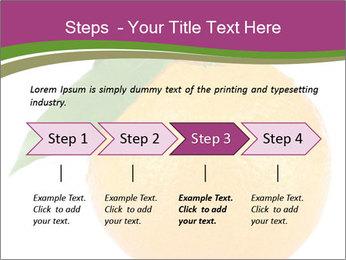 Ripe orange PowerPoint Template - Slide 4