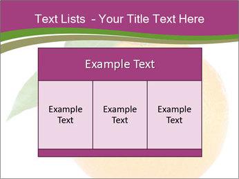 Ripe orange PowerPoint Template - Slide 59
