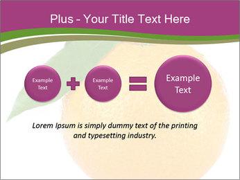 Ripe orange PowerPoint Template - Slide 75