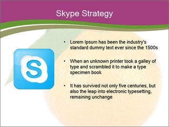 Ripe orange PowerPoint Template - Slide 8