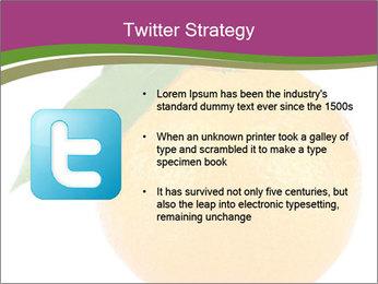Ripe orange PowerPoint Template - Slide 9