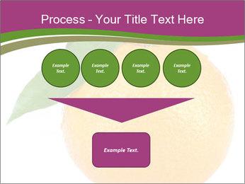 Ripe orange PowerPoint Template - Slide 93