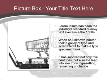 Shopping cart PowerPoint Templates - Slide 13