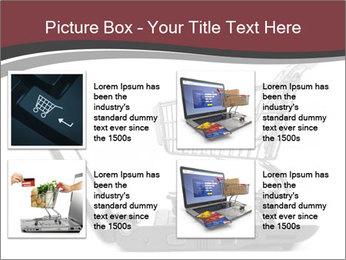 Shopping cart PowerPoint Templates - Slide 14