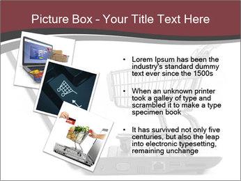 Shopping cart PowerPoint Templates - Slide 17