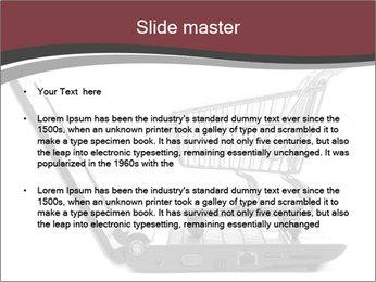 Shopping cart PowerPoint Templates - Slide 2