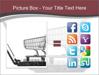 Shopping cart PowerPoint Templates - Slide 21