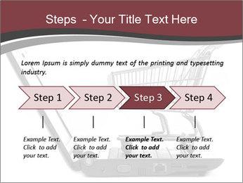 Shopping cart PowerPoint Templates - Slide 4