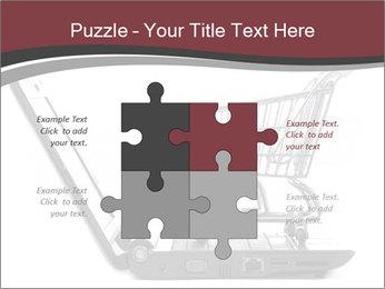 Shopping cart PowerPoint Templates - Slide 43