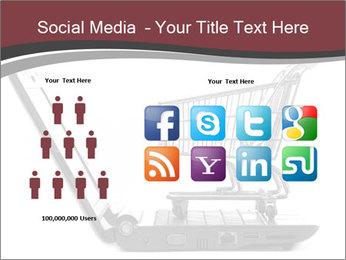 Shopping cart PowerPoint Templates - Slide 5