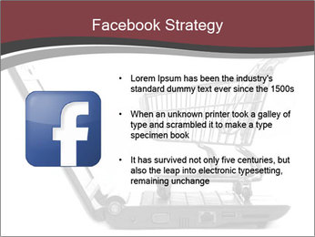 Shopping cart PowerPoint Templates - Slide 6