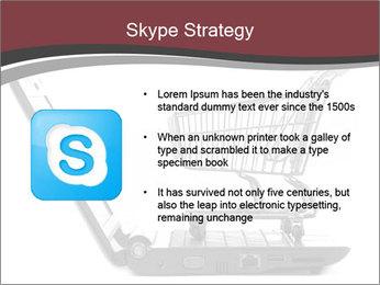 Shopping cart PowerPoint Templates - Slide 8