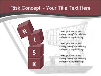 Shopping cart PowerPoint Templates - Slide 81