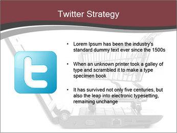 Shopping cart PowerPoint Templates - Slide 9