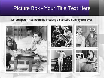 Man playing chess PowerPoint Templates - Slide 19