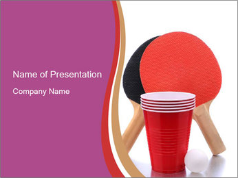 Ping Pong PowerPoint Templates - Slide 1