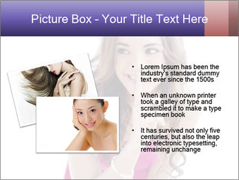 Cute young brunette PowerPoint Templates - Slide 20