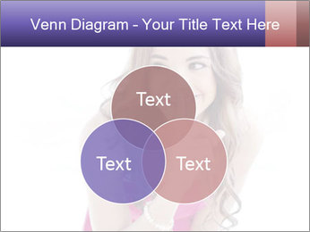 Cute young brunette PowerPoint Template - Slide 33