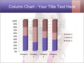 Cute young brunette PowerPoint Template - Slide 50