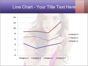 Cute young brunette PowerPoint Template - Slide 54