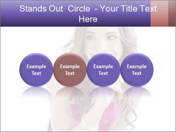 Cute young brunette PowerPoint Template - Slide 76