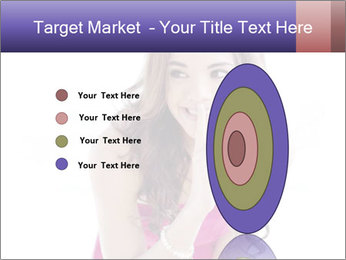 Cute young brunette PowerPoint Templates - Slide 84