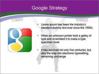 Muscular businessman PowerPoint Template - Slide 10
