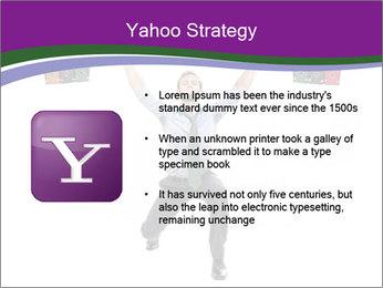 Muscular businessman PowerPoint Template - Slide 11