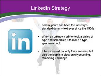 Muscular businessman PowerPoint Template - Slide 12