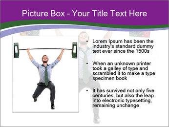 Muscular businessman PowerPoint Template - Slide 13
